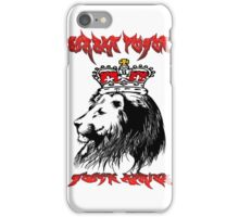 leon king of the jungle south africa  iPhone Case/Skin