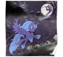 Lonely Luna Poster