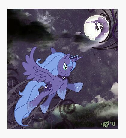 Lonely Luna Photographic Print