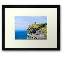 O'Brien's Tower on The Cliffs of Moher Framed Print