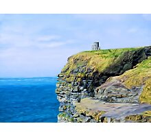 O'Brien's Tower on The Cliffs of Moher Photographic Print