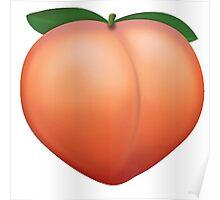 Peach Emoji Poster