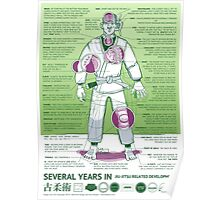 BJJ - Several Years In - Green Poster