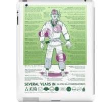 BJJ - Several Years In - Green iPad Case/Skin