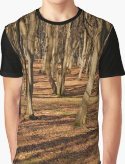 WOOD SHADOWS Graphic T-Shirt