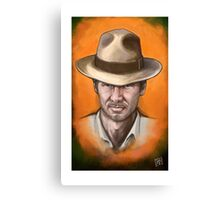 Indiana Jones - Harrison Ford - Famous People Canvas Print