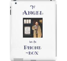 Castiel Has The Phonebox iPad Case/Skin