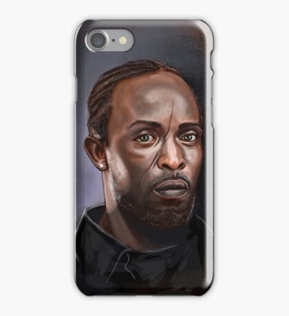 Omar Little - The Wire -  Famous People iPhone Case/Skin