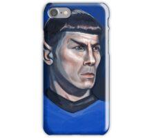 Spock / Leonard Nimoy - Star Trek - Famous People iPhone Case/Skin