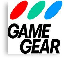 Sega Game Gear Logo Canvas Print