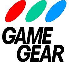 Sega Game Gear Logo Photographic Print