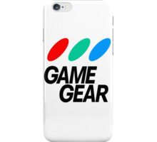 Sega Game Gear Logo iPhone Case/Skin