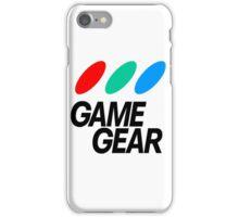 Sega Game Gear Logo iPhone Case/Skin