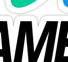 Sega Game Gear Logo Sticker
