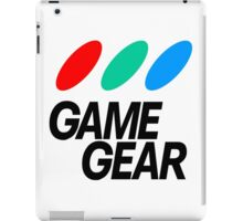 Sega Game Gear Logo iPad Case/Skin