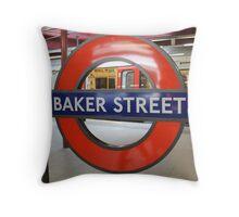 Baker Street Throw Pillow