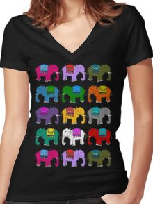 parade Women's Fitted V-Neck T-Shirt