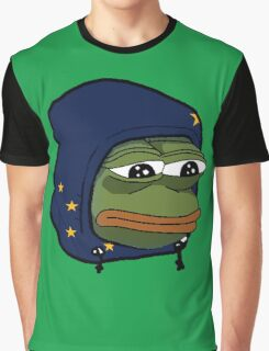 Alaska Pepe Graphic T-Shirt