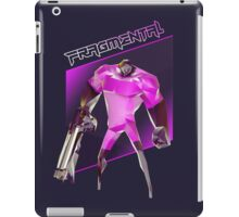 FRAGMENTAL PINK CHARACTER BY RUFFIAN GAMES iPad Case/Skin