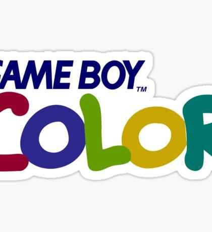 Gameboy Color Logo Sticker
