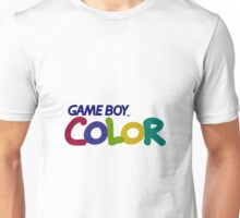 Gameboy Color Logo Unisex T-Shirt