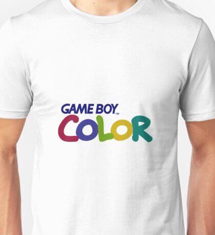 Gameboy Color Logo Unisex T-Shirt