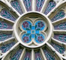 Rosace Gothic vrsac church  Sticker