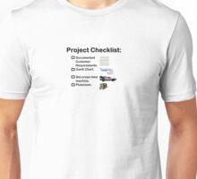 Project Checklist Unisex T-Shirt