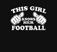 This Girl Knows Her Football Women's Fitted Scoop T-Shirt