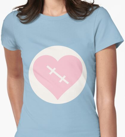 Scarred Womens Fitted T-Shirt