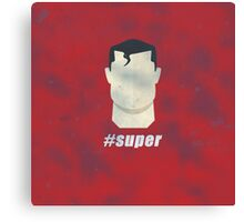 #super Canvas Print