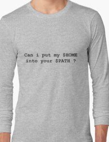 linux fun Long Sleeve T-Shirt