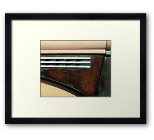 Hood - 1945 Chevrolet pickup Framed Print