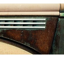 Hood - 1945 Chevrolet pickup Photographic Print