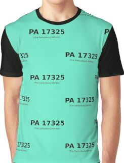 PA 17325 (The Gettysburg Address) Graphic T-Shirt