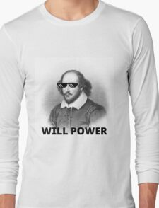 Willy Shakes Long Sleeve T-Shirt