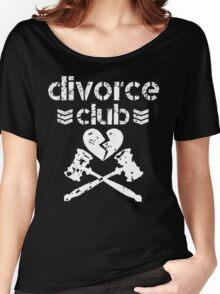 official divorce club memorabilia  Women's Relaxed Fit T-Shirt