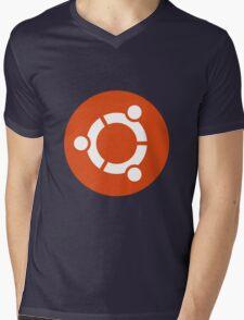 ubuntu Mens V-Neck T-Shirt