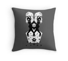 Double Split Throw Pillow