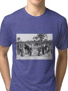 Shearing c1895 Tri-blend T-Shirt
