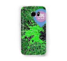 You are here, Boston old map Samsung Galaxy Case/Skin