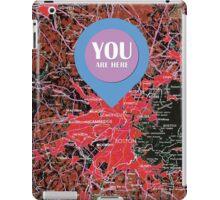 Boston  Massachusetts 1948, YOU ARE HERE iPad Case/Skin
