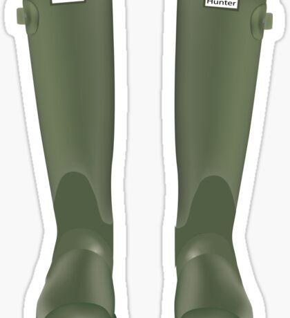 rain boots Sticker