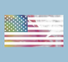 American flag One Piece - Short Sleeve
