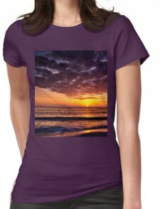 Golden Moments II Womens Fitted T-Shirt