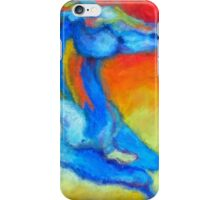Sunset horse running outback  iPhone Case/Skin