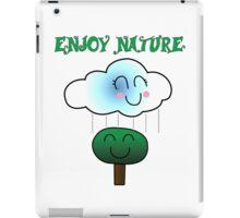 Enjoy nature iPad Case/Skin