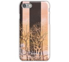 Voice modern trees nature painting art design iPhone Case/Skin