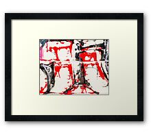 Graffiti 2 Framed Print