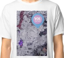 Brooklyn New York 1947 Old Map Classic T-Shirt
